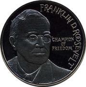 2½ ECU - Beatrix (Franklin D. Roosevelt) -  reverse