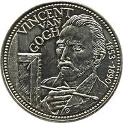 2½  ECU - Beatrix (Vincent van Gogh) -  reverse