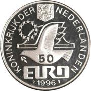 50 Euro - Beatrix (Constantijn Huygens) -  obverse