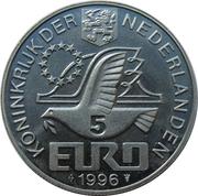 5 Euro - Beatrix (Willem Barentsz) -  obverse