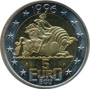 5 Euro / ECU - Beatrix -  reverse