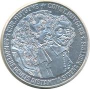 25 ECU - Beatrix (Christiaan and Constantijn Huygens) -  reverse