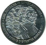 10 ECU - Beatrix (Christiaan and Constantijn Huygens) -  reverse