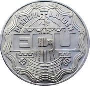 2½ ECU - Beatrix (Emmeloord NOP) -  obverse