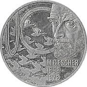 5 Euro - Beatrix (M.C. Escher) -  reverse