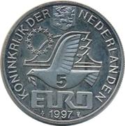 5 Euro - Beatrix (P.C. Hooft) -  obverse