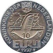 10 Euro - Beatrix (Willem Barentsz) -  obverse