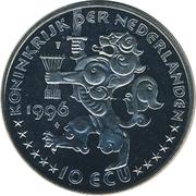 10 ECU - Beatrix (Jacob van Campen) -  obverse