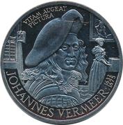 10 ECU - Beatrix (Johannes Vermeer) -  reverse