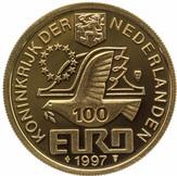 100 Euro - Beatrix (P. C. Hooft) -  obverse