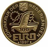 100 Euro - Beatrix (Johan Van Oldenbarnevelt) -  obverse