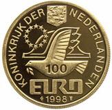 100 Euro - Beatrix (Maarten Harpertsz Tromp) -  obverse
