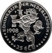 25 ECU - Beatrix (J. R. Thorbecke) -  obverse