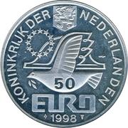 50 Euro - Beatrix (M. C. Escher) -  obverse