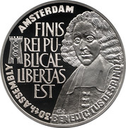 25 ECU - Beatrix (Europa Conference in Amsterdam; with town-arms) -  reverse