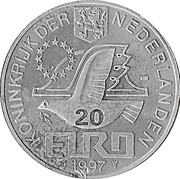20 Euro - Beatrix (P.C.Hooft) -  obverse
