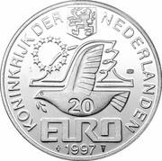 20 Euro - Beatrix (Johan van Oldenbarnevelt) -  obverse