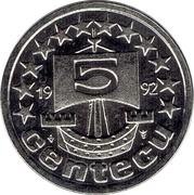 5 Centecu - Beatrix (de Nederlanden) -  obverse