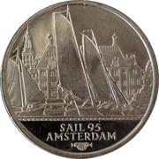 2 ECU - Beatrix (Sail '95 Amsterdam - Friese Tjotters) -  reverse