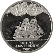 2 ECU - Beatrix (Sail '95 Amsterdam - Sagres) -  reverse