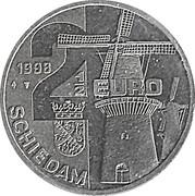 2½ Euro - Schiedam (de Nieuwe Palmboom) -  obverse