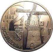 2½ Euro - Schiedam (de Vrijheid) -  obverse