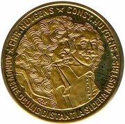 200 ECU - Beatrix (Christiaan and Constantijn Huygens) -  reverse