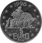 5 Euro / ECU - Beatrix (Rotterdam) -  obverse