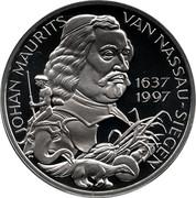 25 ECU - Beatrix (Johan Maurits van Nassau-Siegen) -  reverse