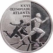 ECU - Beatrix (Atlanta summer Olympics) -  reverse
