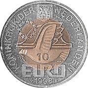 10 Euro - Beatrix (Maarten Harpertsz Tromp) -  obverse