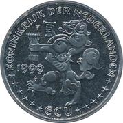 ECU - Beatrix (100yr Vogelbescherming) -  obverse