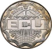 10 ECU - Beatrix (Leeghwater) -  obverse