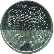 ECU - Beatrix (200th Anniversary of Shubert) -  reverse