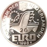 20 Euro - Beatrix (Maarten Harpertsz Tromp) -  obverse