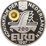 200 Euro - Beatrix (Luxembourg) -  obverse