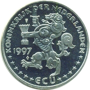 ECU - Beatrix (European Union) -  obverse