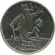 ECU - Beatrix (Marten Toonder) -  obverse