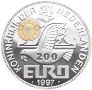 200 Euro - Beatrix (Amsterdam) -  obverse