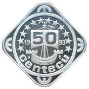 50 Centecu - Beatrix (Jan A. Leeghwater) -  reverse