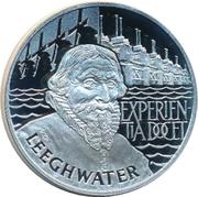 10 ECU - Beatrix (Leeghwater) -  reverse