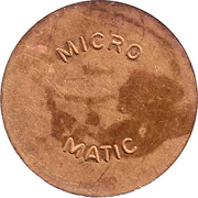 Car Wash Token - Micro Matic (27 mm) – obverse