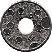 Car Wash Token (20 mm) – reverse