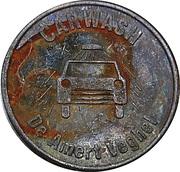 Car Wash Token - De Amert (Veghel) – reverse