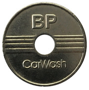 Car Wash Token - BP CarWach (5) – obverse
