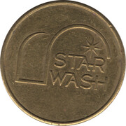 Car Wash Token - Star Wash – reverse