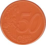 50 Cents - Shopping Cart Token (blank) – obverse