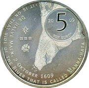 5 Euro - Beatrix (Manhattan) – reverse
