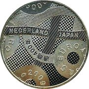 5 Euro - Beatrix (Friendship with Japan) – reverse