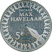 5 Euro - Beatrix (Max Havelaar) – reverse